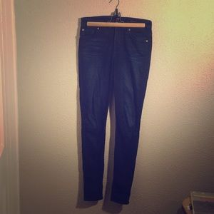 7 for all mankind jeans. The high waist skinny.